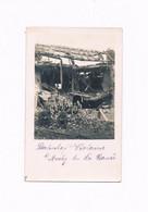AUCHY LES LA BASSEE BAHNHOF VIOLAINE  CARTE PHOTO GUERRE 1914 - 1918 ALLEMANDE - Altri Comuni