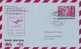 Japon Aerograma - Aerogramas