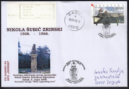 Croatia Zabok 2008 / Nikola Subic Zrinski / Croatian Nobleman And General In The Service Of The Habsburg, Ban Of Croatia - Croacia