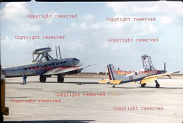 Tres Rare Diapo Avion Plane France Slide SB 161 Languedoc Test Avec MS Epervier Kodak 1963 - Diapositivas