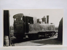 Locomotive. Loddington Ironstone Mines. Cambrai. 8.5x13.5 Cm - Treinen