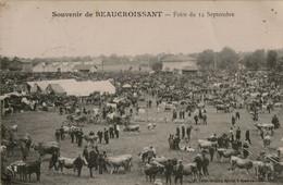 38- Isère - Beaucroissant - Foire Du 14 Septembre - Other Municipalities