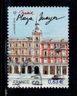 2013 N 4730 PLAZA MAYOR MADRID OBLITERE  CACHET ROND #231# - Gebruikt