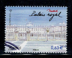 2013 N 473- PALAIS ROYAL  MADRID OBLITERE  CACHET ROND #231# - Oblitérés