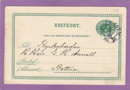 "ENTIER POSTAL DE STOCKHOLM  AVEC REPIQUAGE DE "" A.LEONARD ASPAN, ATELIER OCH KONSFÖRLAG "" POUR BETTNA. - Postal Stationery"