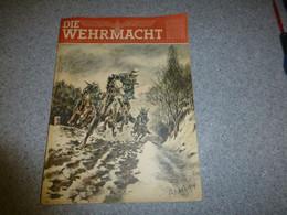 Guerre 39-45 Die Wehrmacht, 31 Mai 1944, RARE ; JL03 - 1900 - 1949