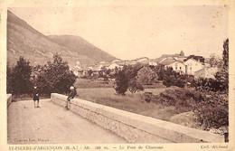 05 - St Pierre D'Argençon - Le Pont De Chaurane (animée) - Altri Comuni