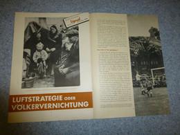 Guerre 39-45 Supplément SIGNAL 19 Octobre 1943 Luftstrategie Oder Volkervernichtung, RARE ; JL03 - Ohne Zuordnung