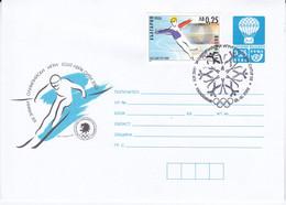 Bulgarije 2002, Prepayed Enveloppe, Olympic Games - Sobres