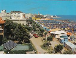 CAORLE-VENEZIA-SPIAGGIA DI PONENTE-CARTOLINA VERA FOTOGRAFIA-VIAGGIATA IL 2-9-1988 - Venezia (Venedig)