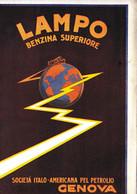 (pagine-pages)PUBBLICITA' BENZINA LAMPO   Le Vied'italia1922/07. - Other
