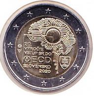 2 Euros Commémoratif 2020 : Slovaquie - Slovakia