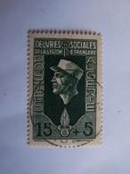FRANCE ALGERIE FRANCAISE 1950 OBLITERE OEUVRES DE LA LEGION - Oblitérés