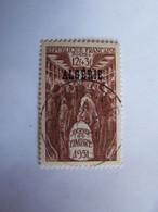 FRANCE ALGERIE FRANCAISE 1951 OBLITERE JOURNEE DU TIMBRE WAGON DE POSTE - Oblitérés