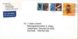 Hong Kong Cover Sent To Denmark  24-6-2006 Topic Stamps - Cartas