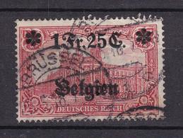 Landespost In Belgien - 1914/16 - Michel Nr. 8 - Gestempelt - 20 Euro - Bezetting 1914-18
