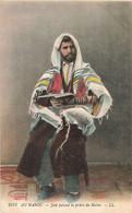 Religion Judaisme Judaica Au Maroc Juif Faisant La Prière Du Matin Cpa - Jewish
