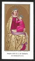 Santino/holycard: Soc. Lit. S. Giuseppe-Mo - SANT. DI BISMANTOVA-1909-nr. 4745 - Cromolito - Religión & Esoterismo