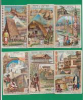 Série Liebig S 753 B De Six Cartes, Edition Belge. - Liebig