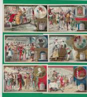 Série Liebig S 335 F De Six Cartes, Edition Française. - Liebig