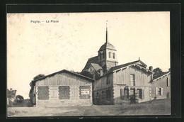CPA Pogny, La Place - Non Classés