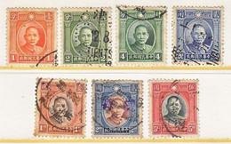 CHINA   290- 96  Type I    (o) - 1912-1949 Republiek