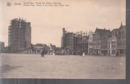 Ypres - Grand'Place, Ruines Des Halles (Côté Sud) - Ieper