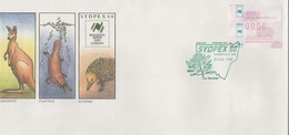 Australia PM 1551 1988 Sydpe 88 Opening Day,FDI, Souvenir Cover - Marcofilie