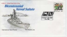 Australia PM 1567 1988 The Bicentennial Naval Salute FDI,souvenir Cover - Marcofilie