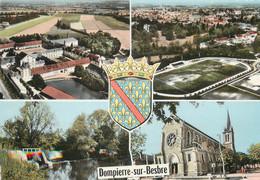 """/ CPSM FRANCE 03 """"Dompierre Sur Besbre"""" / STADE - Altri Comuni"""