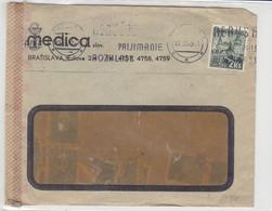 Zensurbrief Aus BRATISLAVA 19.7.43 - Storia Postale