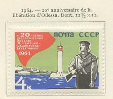 URSS - Sowjetunion - CCCP - Russie 1964 Y&T N°2801 - Michel N°2902 * - 4k Libération D'Odessa - Nuevos