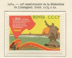 URSS - Sowjetunion - CCCP - Russie 1964 Y&T N°2801A - Michel N°2905 * - 4k Libération De Léningrad - Nuevos