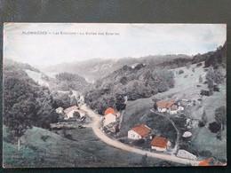 88, Plombières , La  Vallée Des Scieries ..   .scan Recto Verso - Plombieres Les Bains