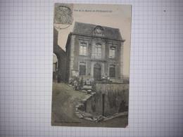 34 - PUISSALICON - VUE DE LA MAIRIE - ANIMEE - Autres Communes