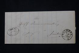 ALLEMAGNE - Cachet Postal De Freiburg Sur Lettre, à Voir - L 91813 - Briefe U. Dokumente