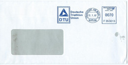 Germany - Machine Stamps (ATM) 2007 - DTU Deutsche Triathlon Union - Affrancature Meccaniche Rosse (EMA)