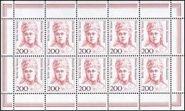 1498 Frauen 200 Bertha Von Suttner - 10er-Bogen ** Postfrisch - Bloques