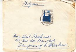Allemagne - République Démocratique - Lettre De 1965 - Oblit Luckenwalde - Rathaus - Valeur 13 Euros - Briefe U. Dokumente