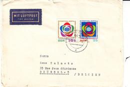 Allemagne - République Démocratique - Lettre De 1968 - Oblit Dresden - Festival - Briefe U. Dokumente