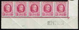 200 Bande 5  Cdf  **  Dépôt 1926  Voir Signatures - Curiosidades