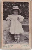4825 - GORIZIA FOTO MAREGA Cartonata  6,5 X 10 Cm. BELLA BAMBINA - Personas Anónimos