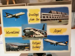 FLUGHAFEN AIRPORT STUTTGART - Aerodromi