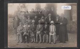 Carte Photo 2060 Bussac Groupe De Chanteuses - Très Rare ! - Other Municipalities
