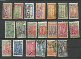 Cameroun 01 - 1926-27 N°106 à 130 (sauf 116/120à122/124/126/127) - Used Stamps