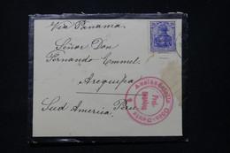 ALLEMAGNE - Enveloppe Pour Le Pérou En 1916 - L 91846 - Storia Postale