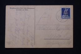 ALLEMAGNE / BAVIERE - Affranchissement De Lauenftein Sur Carte Postale - L 91848 - Briefe U. Dokumente