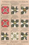 CPA Musée De L'Armée Neuf Drapeaux Pris à L'ennemi Aout à Octobre 1914 Déposés Aux Invalides - Guerra 1914-18