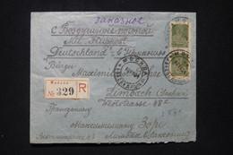 U.R.S.S. - Enveloppe En Recommandé De Moscou Pour L'Allemagne En 1924 - L 91854 - Brieven En Documenten
