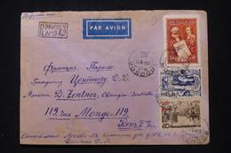 U.R.S.S. - Enveloppe En Recommandé De Moscou Pour Paris En 1948 - L 91855 - Covers & Documents
